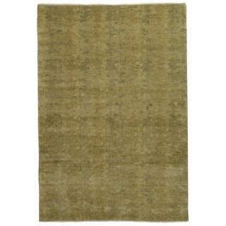 Martha Stewart Tendrils Sunrise Wool Rug (6' x 9')