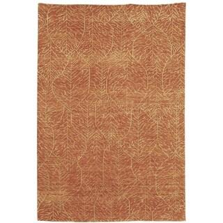 Martha Stewart Foliage Harvest Wool Rug (6' x 9')