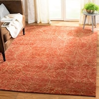 Martha Stewart by Safavieh Foliage Harvest Wool Rug - 6' x 9'