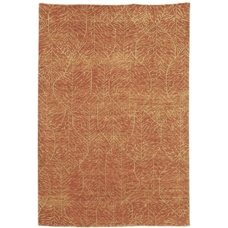 Martha Stewart by Safavieh Foliage Harvest Wool Rug (9' x 12')