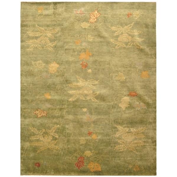 Shop Martha Stewart By Safavieh Kimono Edamame Wool Rug