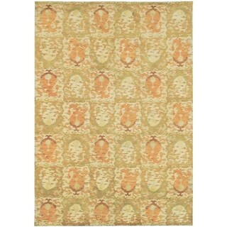 Martha Stewart by Safavieh Reflection Earth Silk/ Wool Rug (9' x 12')