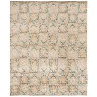 Martha Stewart by Safavieh Reflection Water Silk/ Wool Rug - 6' x 9'