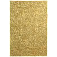 Martha Stewart by Safavieh Sakura Turtle/ Amber Silk/ Wool Rug - 9' x 12'