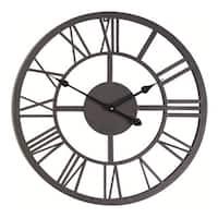 Giant Roman Numeral Wall Clock