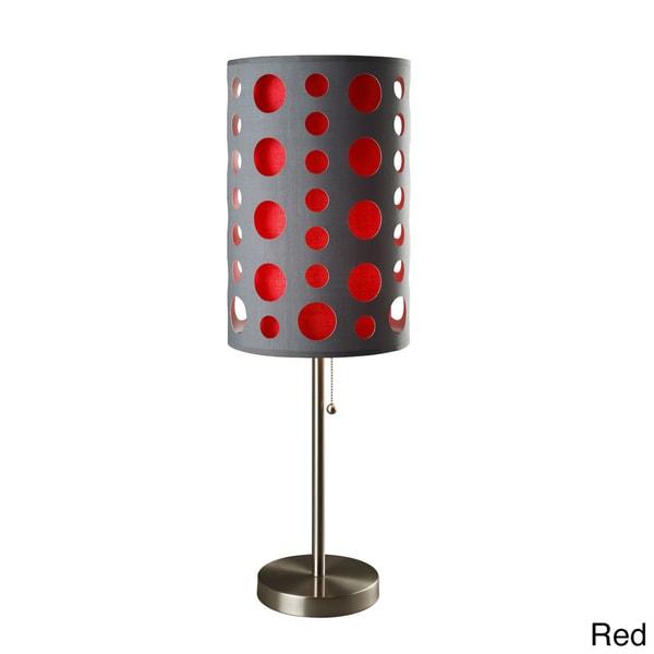 33-inch Modern Retro Grey Table Lamp