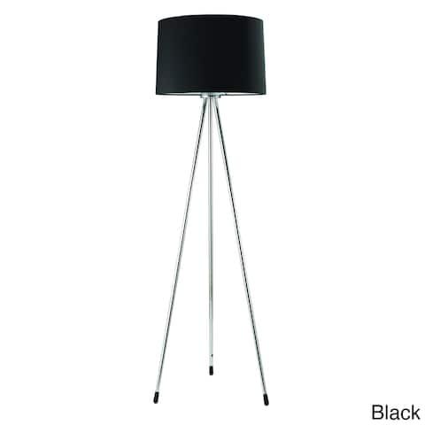 Chrome 3-legged Floor Lamp