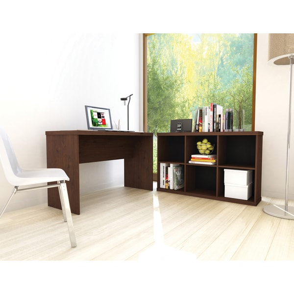 Sonax Urban Maple 48-inch Workspace Desk