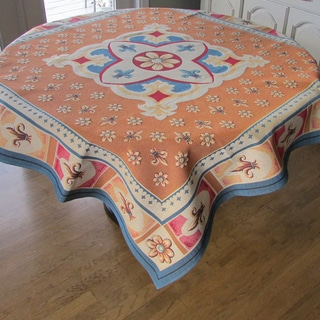 Corona Decor French Woven Heavy Weave 60-inch Table Cloth