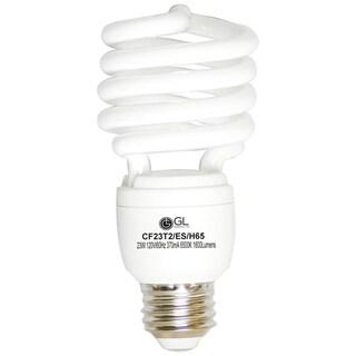Goodlite G-10850 23-watt CFL 100-watt Replacement 1620-lumen T2 Spiral Light Bulb (Pack of 25)
