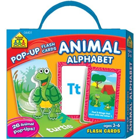 Pop-Up Flash Cards Animal Alphabet