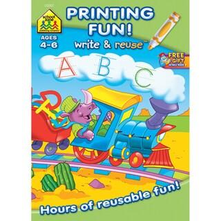 Printing Fun! Write And Reuse Workbook