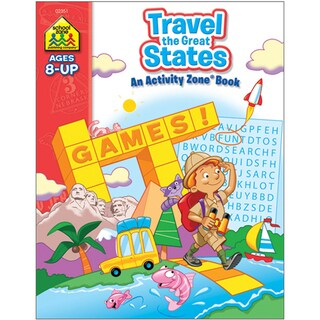 Travel the Great States Activity Zone Workbook