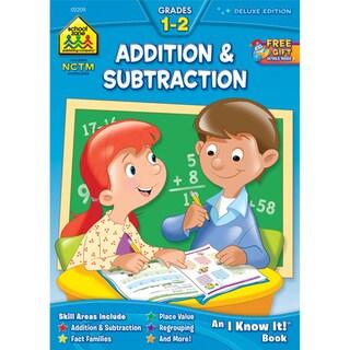 School Zone Addition/Subtraction Workbooks