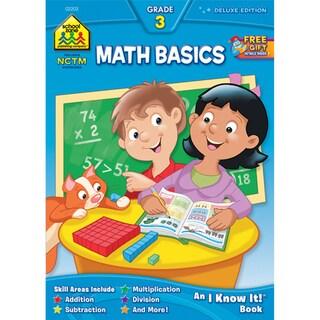 School Zone Math Basics 3 Workbooks