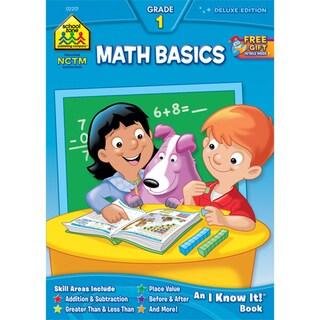 School Zone Math Grade 1 Workbooks