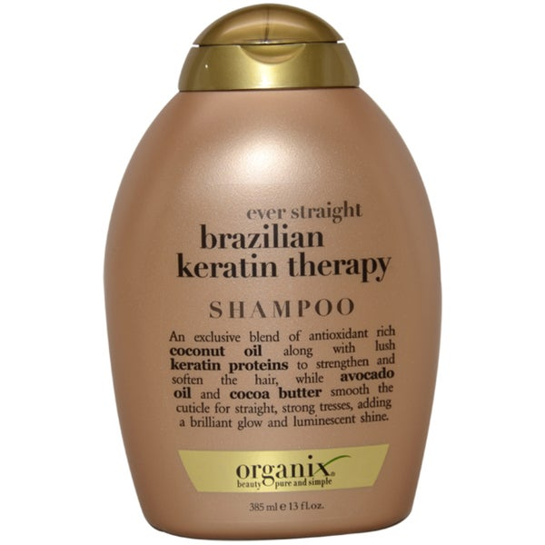Organix Ever Straight Brazilian Keratin Therapy 13-ounce Shampoo