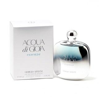 Giorgio Armani Acqua Di Gioia Essenza Women's 3.4-ounce Eau de Parfum Intense Spray