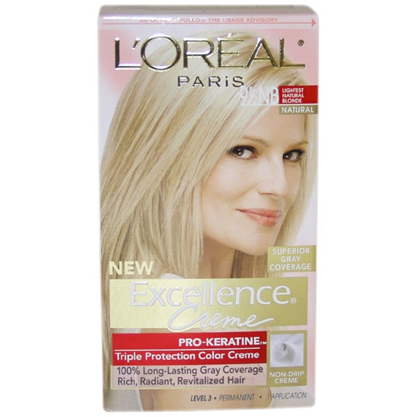 Loreal Excellence Creme Pro Keratine 95 Lightest Natural Blonde