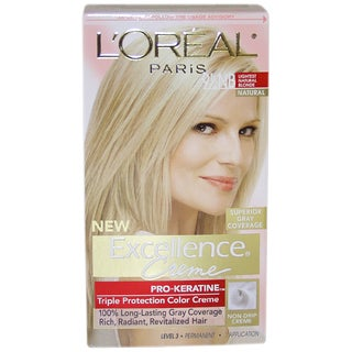L'Oreal Excellence Creme Pro Keratine #9.5 Lightest Natural Blonde Hair Color