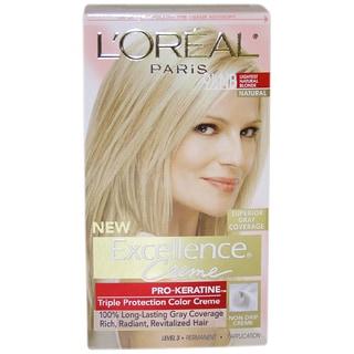 L'Oreal Excellence Creme Pro Keratine #9.5 Lightest Natural Blonde Hair Color