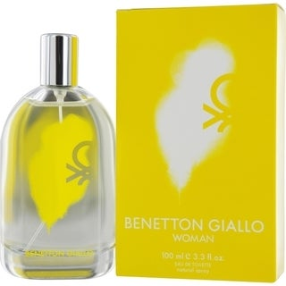 United Colors of Benetton Giallo Women's 3.3-ounce Eau de Toilette Spray