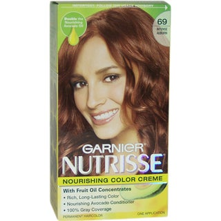 Garnier Nutrisse Nourishing Color Creme Intense #69 Auburn Hair Color