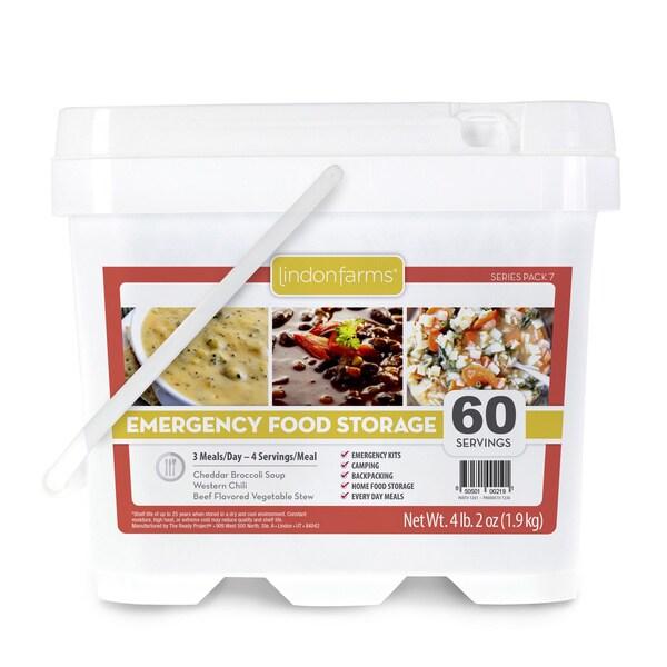 Lindon Farms 60 Servings Soup/ Chili/ Stew Emergency Food Storage Kit