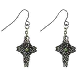 Carolina Glamour Collection Pewter Rhinestone Celtic Cross Earrings https://ak1.ostkcdn.com/images/products/7879283/7879283/CGC-Pewter-Rhinestone-Celtic-Cross-Earrings-P15262247.jpg?impolicy=medium