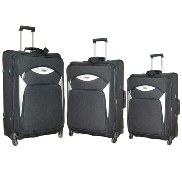 NY Cargo Norwegian 3-piece Spinner Luggage Set. Opens flyout.