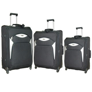 NY Cargo Norwegian 3-piece Spinner Luggage Set