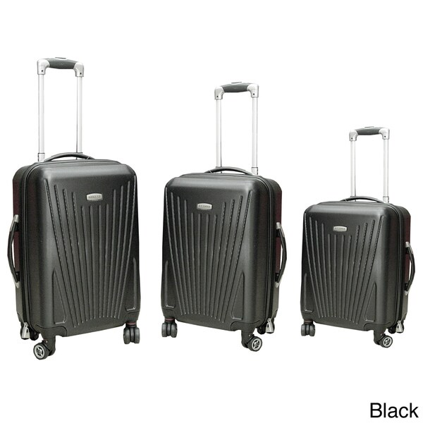 NY Cargo Cross Country 3-piece Hardside Spinner Luggage Set