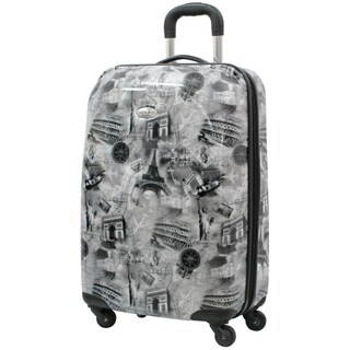 Destinations 21-inch Carry-on Hardside Spinner Luggage Upright Suitcase