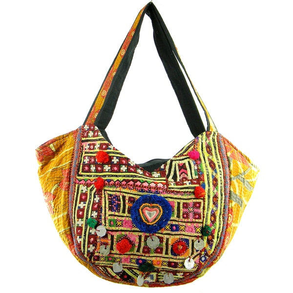 Cotton Stich Traditional Banjara Hobo Bag (India)