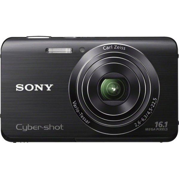 Sony Cyber-shot DSC-W650 16.1MP Black Digital Camera