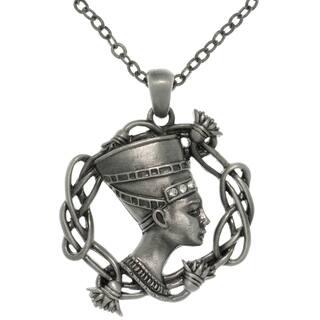 Pewter Rhinestone Egyptian Nefertiti Necklace|https://ak1.ostkcdn.com/images/products/7879419/7879419/CGC-Pewter-Rhinestone-Egyptian-Nefertiti-Necklace-P15262362.jpg?impolicy=medium