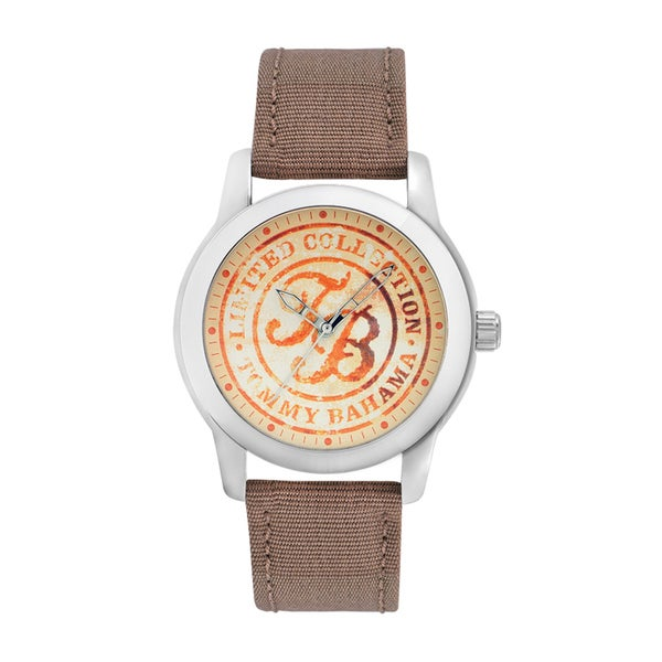 Tommy Bahama Men's 'Relax' Tan Graphic Watch