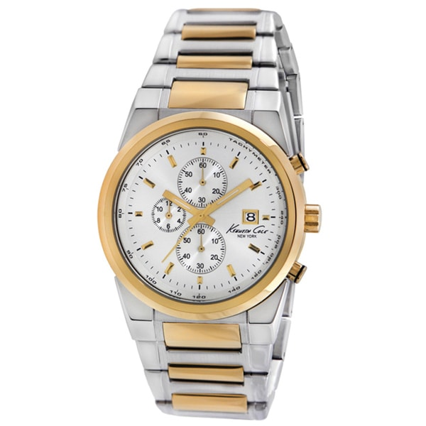 Kenneth Cole New York Men's Two-tone Chronograph Watch