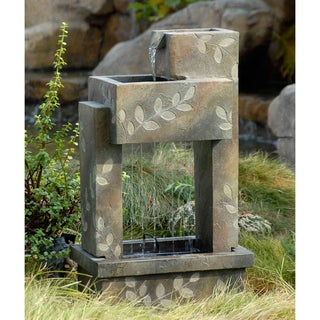 Slate Finish Indoor/Outdoot Water Fountain
