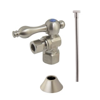 Decorative Chrome Vessel Sink Plumbing Supply Kit With