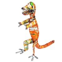 Handmade Recycled Tin Can Dinosaur (Kenya)