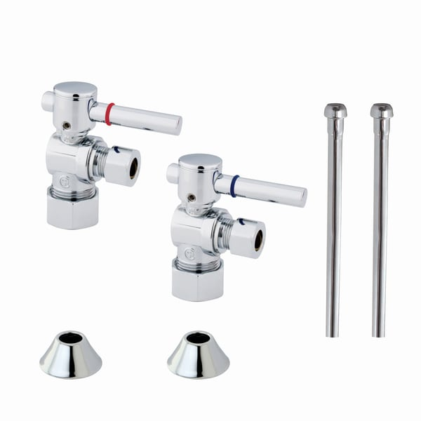Shop Decorative Chrome Plumbing Supply Kit - Free Shipping Today ...