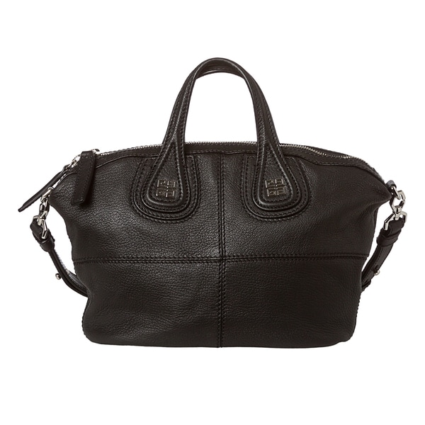 Givenchy 'Nightingale' Goatskin Micro Leather Satchel
