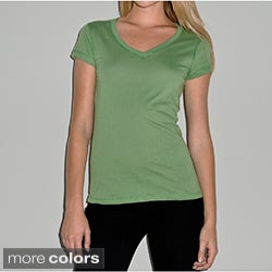 Bella Women's V-Neck Jersey T-shirt