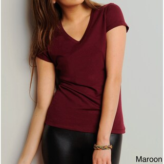 Bella Women's V-Neck Jersey T-shirt (More options available)