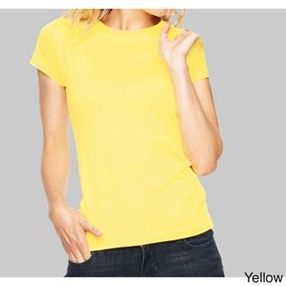 Bella Women's Ringspun Cotton Favorite T-Shirt (5 options available)