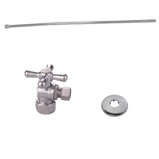 Decorative Polished Chrome Toilet Plumbing Supply Kit