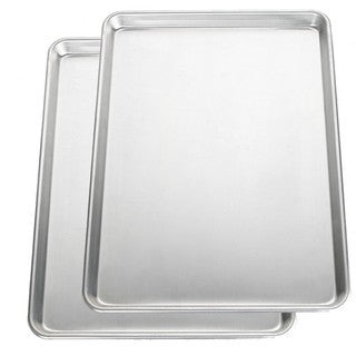 Nordic Ware Bakers Commercial Half Baking Sheets (Pack of 2)