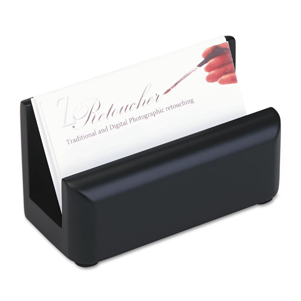 Rolodex Wood Tones Black Business Card (Includes business...