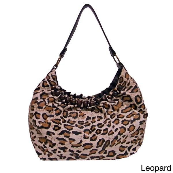 Bueno 'Savannah' Animal Print Hobo Bag